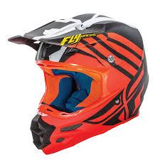 white motocross helmet fly racing 2016 f2 carbon zoom orange black white motocross helmet