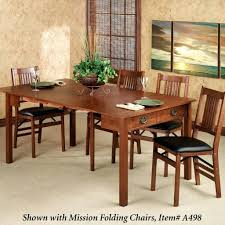 mission style dining room mission style dining set room oak table and chairs ashley