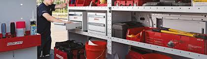 Shelves For Vans by Commercial Van Equipment Shelving Ladder Racks Drawers