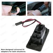 direct fit led license plate lights installation guide for audi bmw