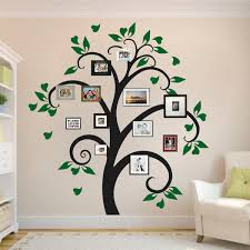 picture frame tree wall decal tree decals trendy wall designs
