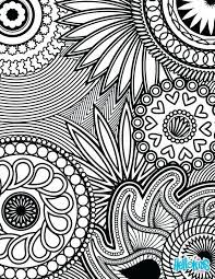 Stunning Interesting Intricate Coloring Pages Adults Free Download Free Intricate Coloring Pages
