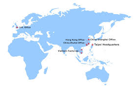 World Map Vietnam by Domex Group
