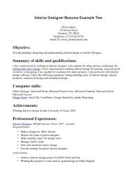 Interior Design Resume Templates Frederick Douglass Research Paper Topics Oil And Gas Cover Letter
