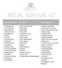 wedding stuff wedding survival kit 60 best bridal survival kit images on