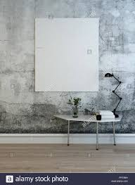 Floored by Single Oversized Blank Picture Frames Or Chart In Wooden Floored