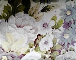 Shabby Chic Upholstery Fabric Sanderson Fabric Etsy