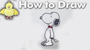 how to draw thanksgiving how to draw snoopy step by step for beginners easy