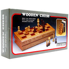 Amazon Chess Set Amazon Com Wooden Book Style Chess Board With Staunton Chessmen