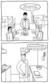 mod rocker a birthday comic