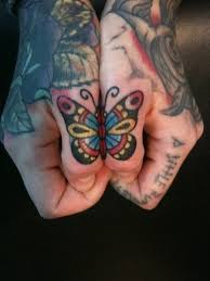 badass small butterfly photo tattoos design idea for and