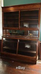 Vintage Pharmacy Cabinet Antique Oak General Store Apothecary Display Case Circa 1900