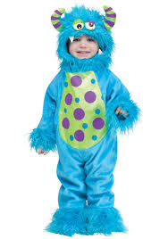 Monster Halloween by Li U0027l Monster Blue Costume