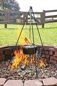 amazon com lodge l12co3 cast iron camp dutch oven 6 quart