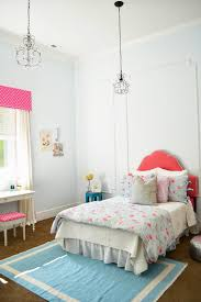 girls room bed my home little miss j u0027s pink u0026 blue bedroom sita montgomery
