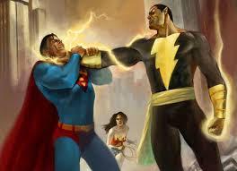 henry cavill teasing fight superman