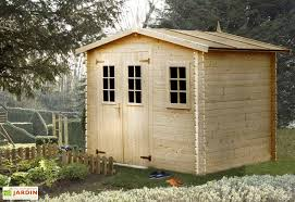 abris de jardin madeira abri de jardin bois luby 28mm 268x248cm madeira
