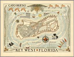 West Florida Map by Key West Florida Cayo Hueso David Rumsey Historical Map