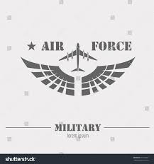 air force letter template air force template military logo badge air force graphic stock military logo badge air force graphic stock vector 377777221