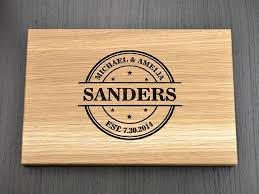 Engraved Wooden Gifts Personalized Sanders