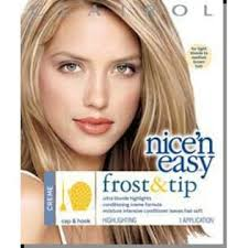 highlights vs frosting of hair clairol highlights maximum blonde 1 application beauty hair