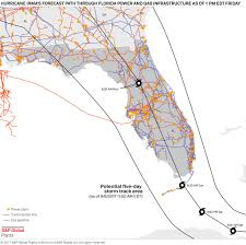 Fpl Outage Map Gas And Power Factbox May Take U0027weeks If Not Longer U0027 To Rebuild