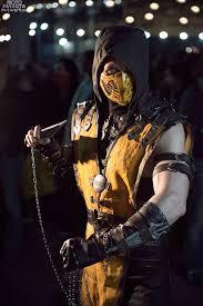 Scorpion Costume Mortal Kombat U0027s Scorpion U2014 Gamer Cosplay Collection U2014 Geektyrant