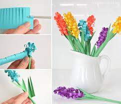 hyacinth flower to make paper hyacinth flowers