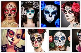 for halloween ideas get a sugar skull makeup look in 10 minutes