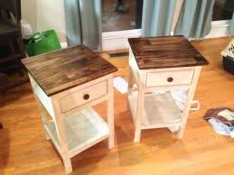 Farmhouse Side Table Farmhouse Bedside Table Do It Yourself Home Projects From