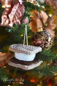 crochet s more ornament free crochet ornament and crochet