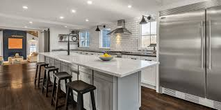 backsplash for kitchen without cabinets kitchen the house that social media built
