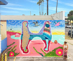 Mural Collaboration by Superhuman Nature Celeste Byers