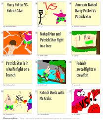 harry potter vs patrick star
