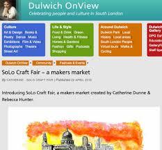 press u2014 solo craft fair south london craft market