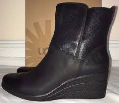 womens black leather boots size 11 ugg australia womens black leather waterproof boots size 11