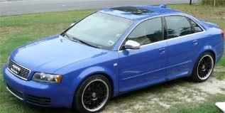 2004 audi s4 blue exx0dus27 2004 audi s4quattro sedan 4d specs photos modification