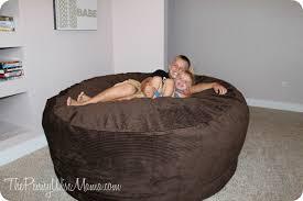 comfy sacks 6 u0027 bean bag chair review u0026 giveaway the pennywisemama