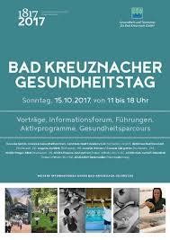 Acura Klinik Bad Kreuznach Morgen In Bad Kreuznach Am 15 10 17 Gesundheitstag Feiert 200