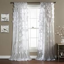 Gray And White Curtains Curtains U0026 Drapes Birch Lane