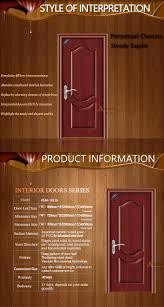 new design steel door pvc interior fancy wood door design buy