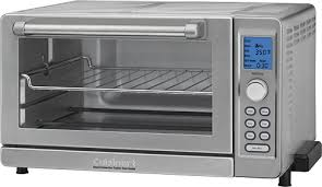 Toaster Oven Best Buy Cuisinart 0 6 Cu Ft 6 Slice Toaster Oven Silver Tob 135 Best Buy