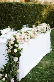 Wedding Table Centerpiece Romantic Flower Decorative Sweetheart Table Hacks For Wedding