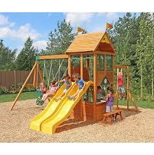 wooden swingsets u0026 playsets backyard imagination