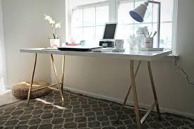 Small Ikea Desk Ikea Hack My Office Desk Shannon Small Office Table Office