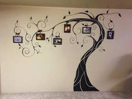 wonderful diy amazing family tree wall