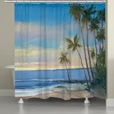 tropical breeze shower curtain u2013 laural home