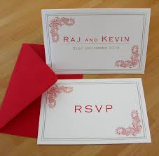contemporary indian wedding invitations contemporary indian wedding invitations and rsvp millbank and kent