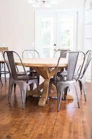 round farmhouse dining table round trestle dining table free diy plans trestle dining tables