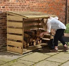 large firewood storage shed ideas